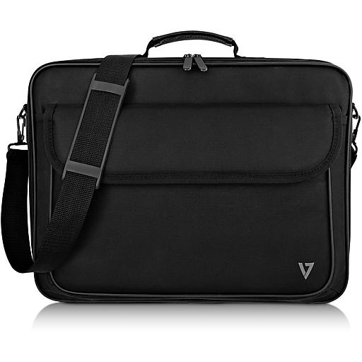 """V7 Essential CCK16-BLK-3N Carrying Case for 16"""" Notebook, File, Black"""