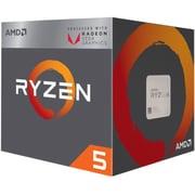 AMD Ryzen 5 2400G Quad-core (4 Core) 3.60 GHz Processor, Socket AM4, Retail Pack