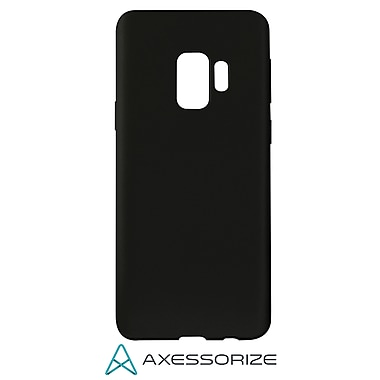 Axessorize COMBO Gel Case Samsung Galaxy S9 with Tempered Glass Screen Protector