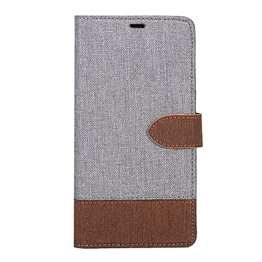 Blu Element 2 in 1 Folio-2 Tone Galaxy S9, Grey/Brown (B21S9GBT)