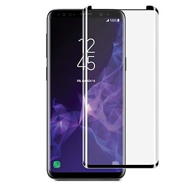 Blu Element 3D Curved Glass Case Friendly Galaxy S9, Black (BTGS9CB)