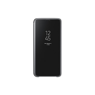 Samsung Clear View Standing Cover Galaxy S9, Black (EFZG960CBEGCA)