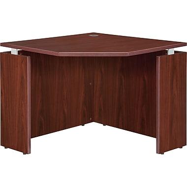 RDC/Lorell Ascent Corner Desk, Mahogany (LLR68694)
