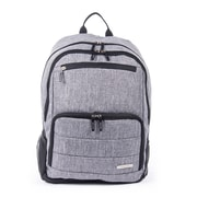 Bugatti Ryan Backpack, Grey, Polyester (BKP118-GREY)