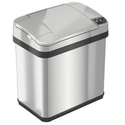 iTouchless® 2.5 gal. Stainless Steel Multifunction Sensor Trash Can (MT02SS)