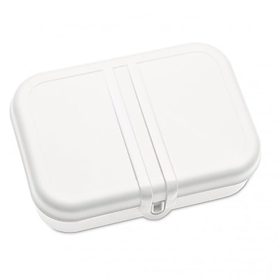 Koziol PASCAL L Lunch Box with Separator Cotton White (3152525)