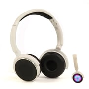 PPG A12-B18-2 Wireless Headphones with Mic in White