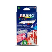 Prang Magic Erasable Markers, 8/Pack