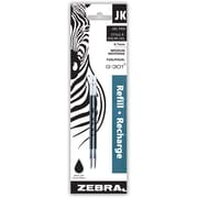 Zebra Jk-Refill Medium Point, 2/Pack