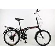 NESTLAND 20'' Folding Bike 6 Spend NLX, JX (NL20-6-ON-QUE)