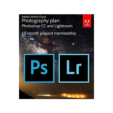 Adobe Creative Cloud Photography Plan [Download]