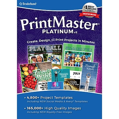PrintMaster v8 Platinum, Windows [Download]