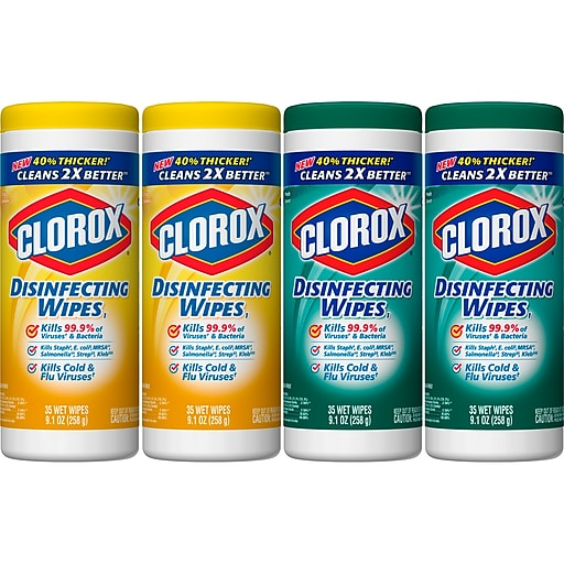 Clorox Disinfecting Wipes Value Pack, Bleach Free Cleaning Wipes - 140 Wipes (31128)
