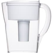Brita® 6 Cup Space Saver BPA Free Water Pitcher with 1 Filter, White