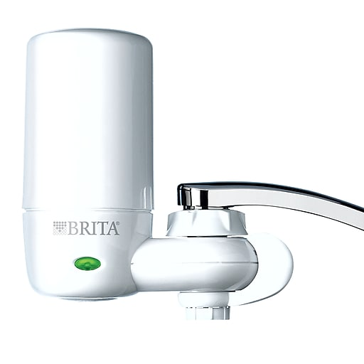 https www staples 3p com s7 is  Brita On Tap Faucet Water Filter System White 42201 Staples