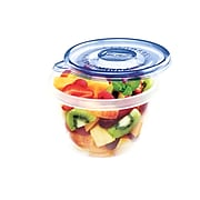 Glad® Mini Round Containers, 4 Oz., 8/Pack (70240)