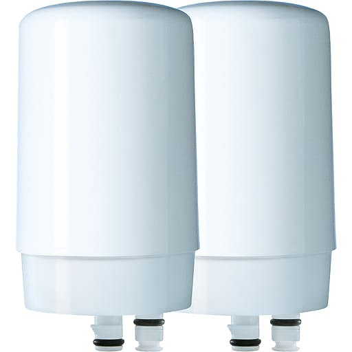 Brita® On Tap Faucet Water Filter System Replacement Filter, White ...