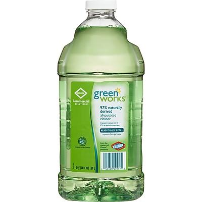 Clorox® Green Works® All-Purpose Cleaner Refill Bottle, Original Scent, 64 oz.