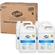 Clorox Healthcare Bleach Germicidal Cleaner Refill, 128 Ounces (68978)