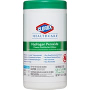 Clorox Healthcare® Hydrogen Peroxide Cleaner Disinfectant Wipes, 95 Count Canister