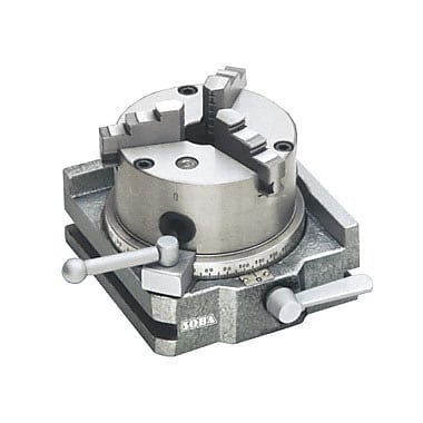 Shoba® Two Direction Rapid Indexer with 3 Jaw Chuck, 3-3/16