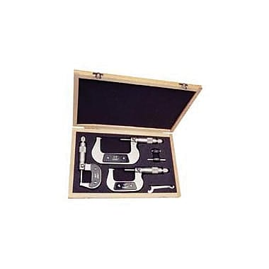 Z & Y 3 Piece Micrometer Set, 0 - 3