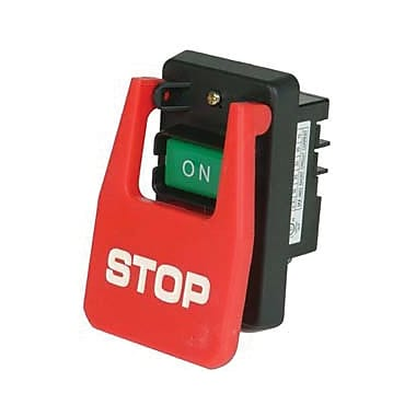 Busy Bee Tools Large Stop Push Button Switch (B2561)