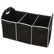 As Seen On TV Polycanvas 2-in-1 Foldable Organizer, Black (B3419)