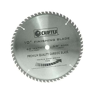 Craftex Finishing Table Saw Blade, 10