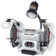 "Craftex CX Series Bench Grinder with Light, 8"" (CX906)"
