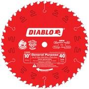 """Diablo® General Purpose Saw Blade, 10"""" x 40T (D1040X)"""