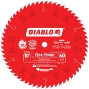 "Diablo® Fine Finish Saw Blade, 10"" x 60T (D1060X)"