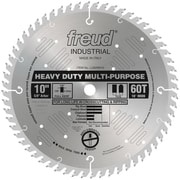 "Freud® Heavy Duty Multipurpose Saw Blade, 10"" x 60T (LU82M010)"