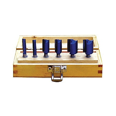 Craftex Blue Tornado™ 6 Piece Dado Router Bit Set (R942)