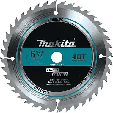 Makita® Cordless Circular Saw Blade, 6-1/2