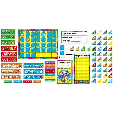 Trend T8292 Calendrier Annuel (French), Bulletin Board Set
