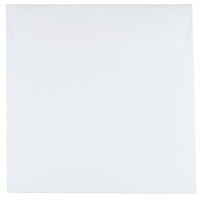 JAM Paper® 7 x 7 Square Envelopes, White, 50/pack (28209I)