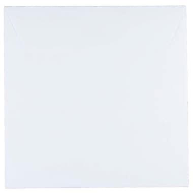 JAM Paper® 7.5 x 7.5 Square Envelopes, White, 100/Pack (28210B)