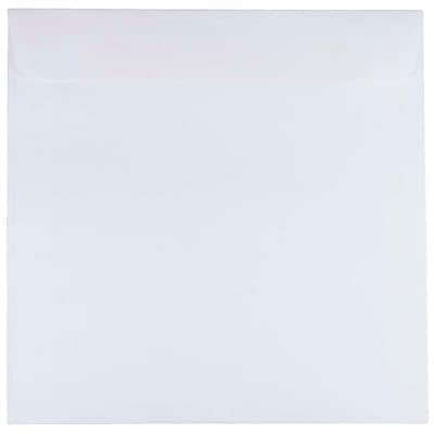 JAM Paper® 8.5 x 8.5 Square Envelopes, White, 1000/carton (4231C)