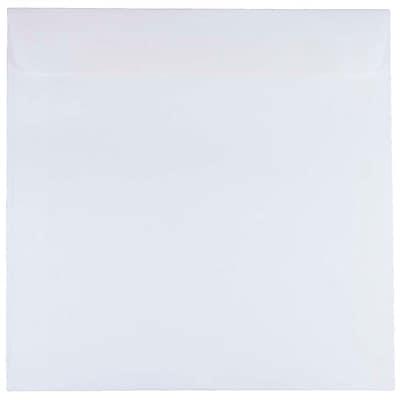 JAM Paper® 8.5 x 8.5 Square Envelopes, White, 250/box (4231H)