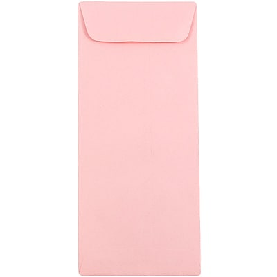 JAM Paper® #10 Policy Envelopes, 4 1/8 x 9 1/2, Baby Pink, 1000/carton (3961301B)