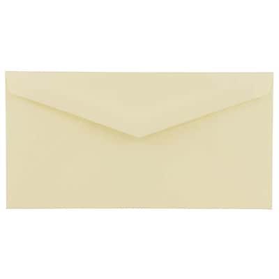 JAM Paper® 4.5 x 8.125 Booklet Envelopes, Ivory, 1000/carton (4093016B)