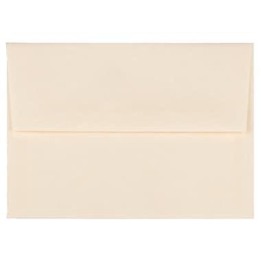 JAM PaperMD – Enveloppes en papier parchemin recyclé avec fermeture gommée, 4 3/8 x 5 3/4 po, naturel, 1000/paquet