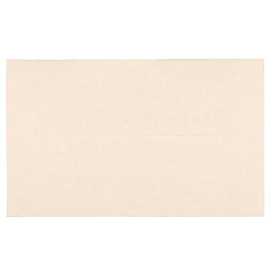 JAM PaperMD – Enveloppes en papier-parchemin recyclé, format livret à fermeture gommée, 6 x 9 1/2 po, naturel, 100/pqt