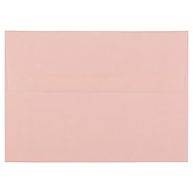 JAM Paper® A6 Invitation Envelopes, 4.75 x 6.5, Parchment Pink Recycled, 100/Pack (97818g)