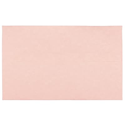 JAM Paper® A10 Invitation Envelopes, 6 x 9.5, Parchment Pink Recycled, 250/box (97859H)