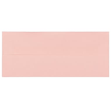 JAM PaperMD – Enveloppes en papier parchemin recyclé avec fermeture gommée, 4 1/8 x 9 1/2 po, rose pâle, 1000/paquet