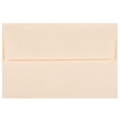 JAM Paper® A8 Invitation Envelopes, 5.5 x 8.125, Parchment Natural Recycled, 250/box (5029H)