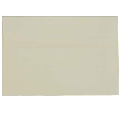 JAM Paper® A8 Invitation Envelopes, 5.5 x 8.125, Strathmore Ivory Laid, 250/box (90810172H)