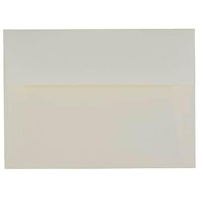 JAM Paper® A7 Invitation Envelopes, 5.25 x 7.25 Strathmore Natural White Laid, 1000/carton (STTL713B)